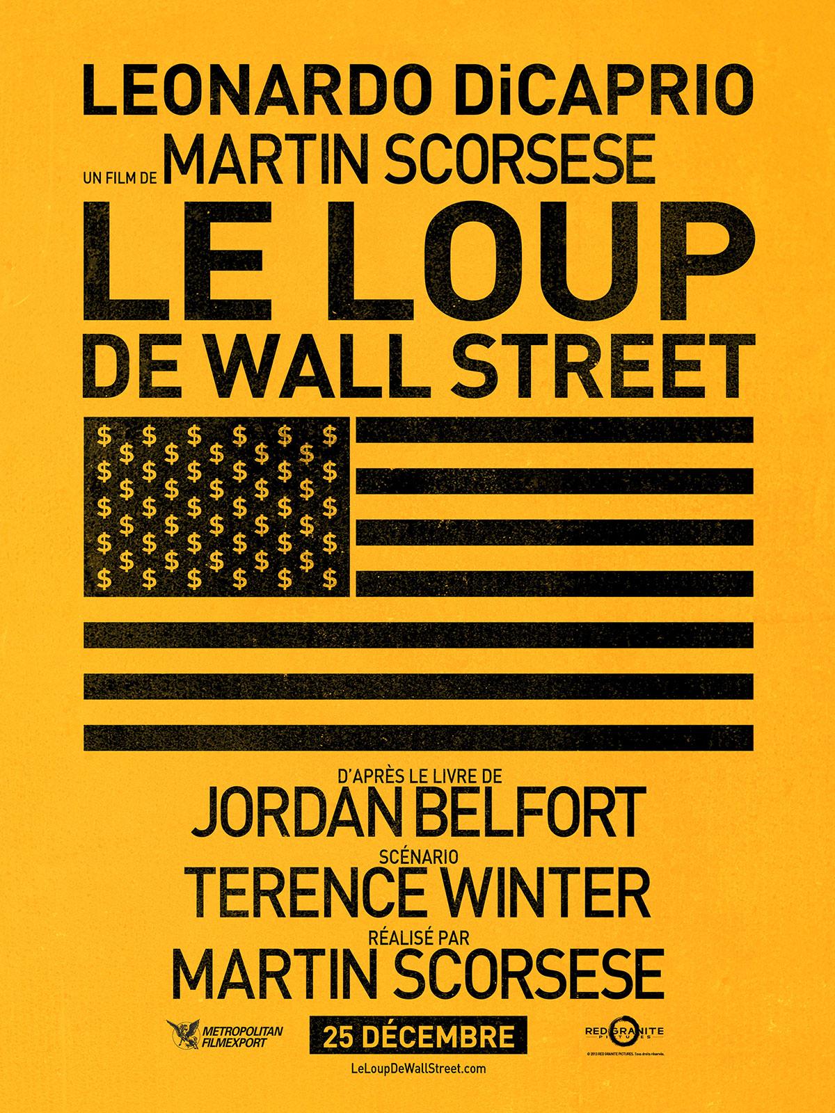 Affiche du film le loup de wall street affiche 3 sur 4 allocin - Le loup de wall street film ...