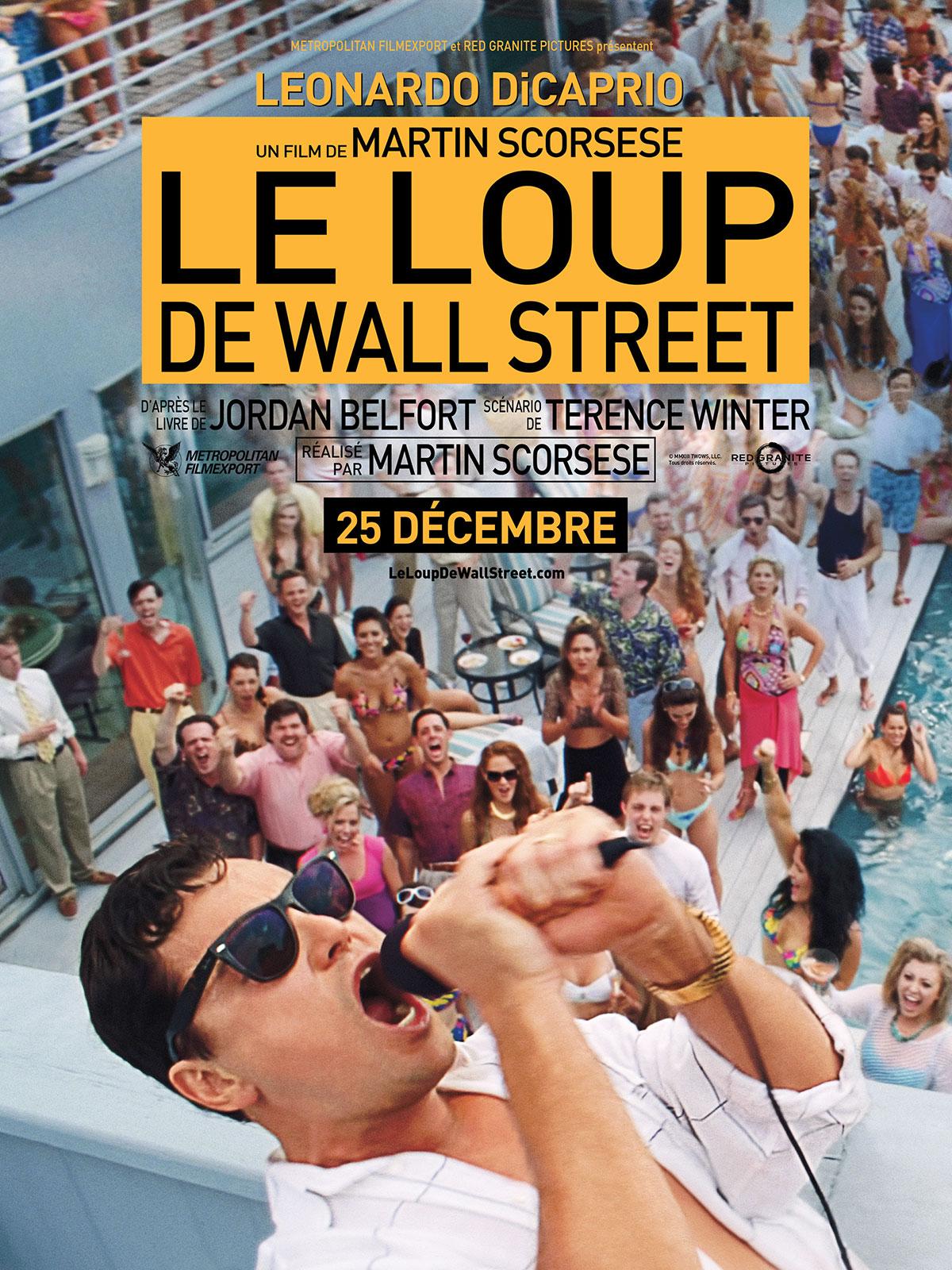 Affiche du film le loup de wall street affiche 2 sur 4 allocin - Le loup de wall street film ...