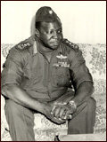 Photo : Gnral Idi Amin Dada : Autoportrait