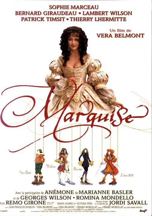 Marquise : Affiche Véra Belmont
