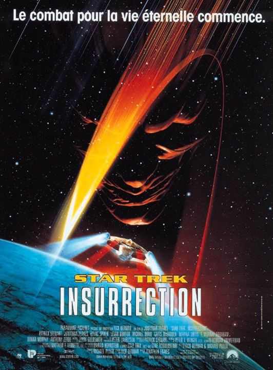 Star Trek: Insurrection : Affiche Jonathan Frakes