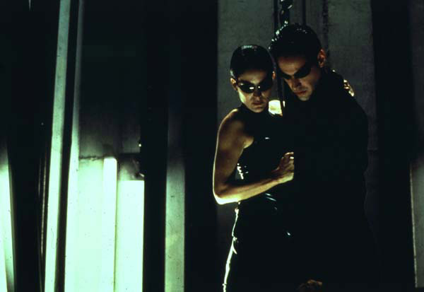 Matrix : Photo Carrie-Anne Moss, Keanu Reeves