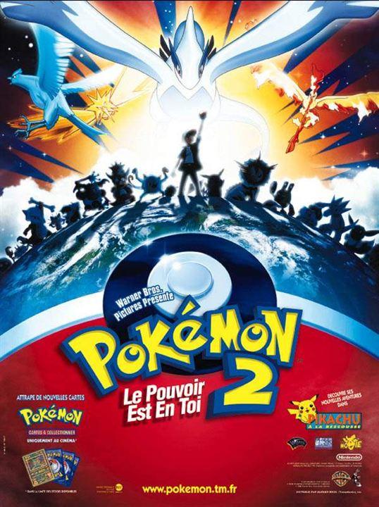 Pokémon 2, le pouvoir est en toi : Affiche