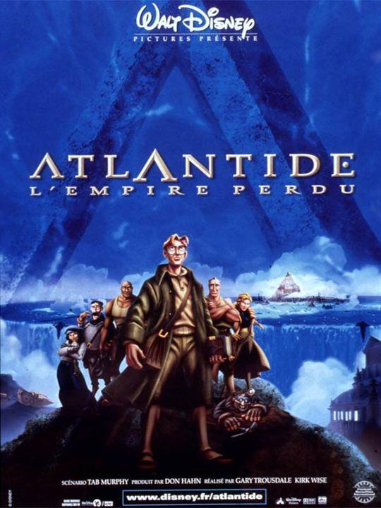 Atlantide, l'empire perdu : affiche Gary Trousdale, Kirk Wise