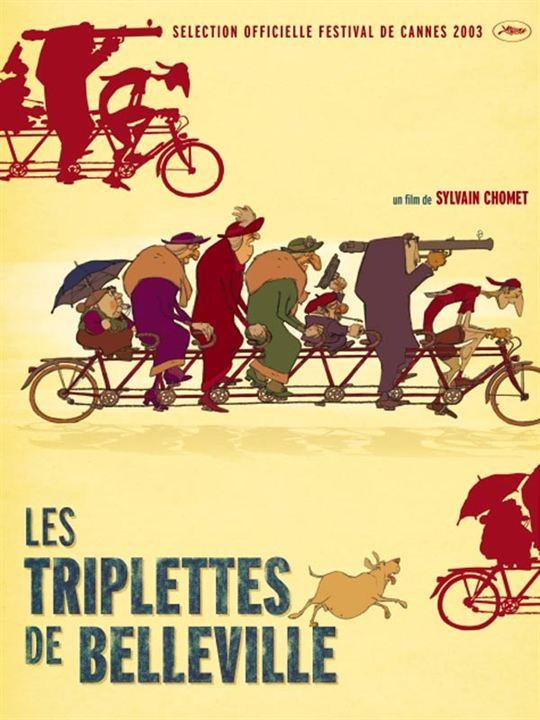 Les Triplettes de Belleville : Affiche