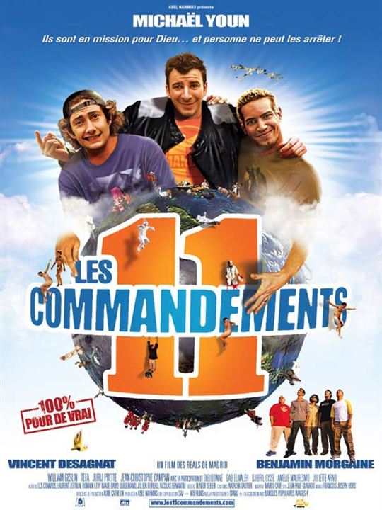 Affiche du film les 11 commandements affiche 1 sur 1 for 11 commandements piscine