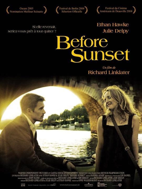 Before Sunset : Affiche