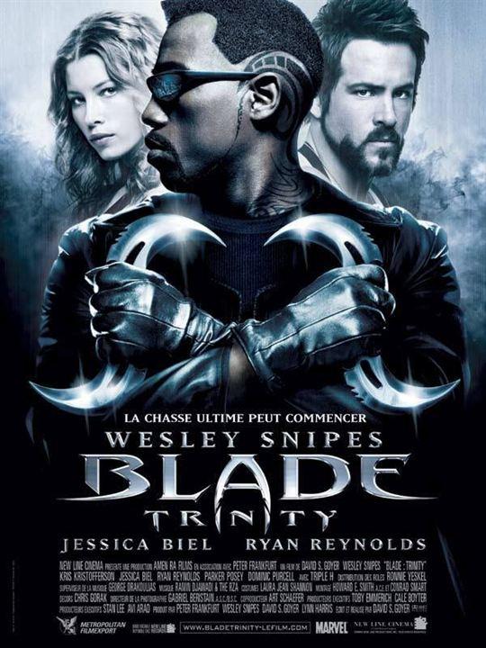 Blade: Trinity : Affiche David S. Goyer, Jessica Biel