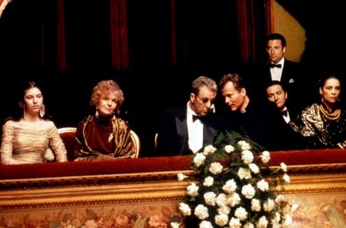Le Parrain, 3e partie : Photo Al Pacino, Andy Garcia, Diane Keaton, Francis Ford Coppola, Sofia Coppola