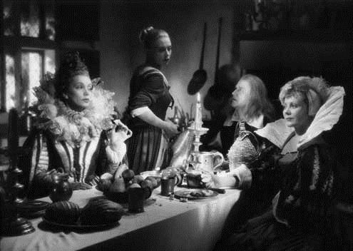 Photo Jean Cocteau, Jean Marais, Josette Day, Mila Parély