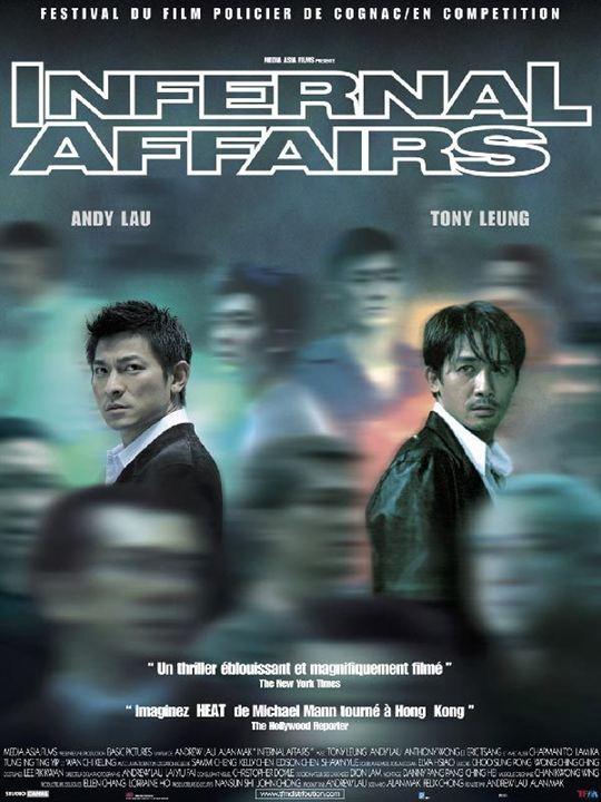 Infernal affairs : Affiche Alan Mak, Tony Leung Chiu Wai, Wai Keung Lau