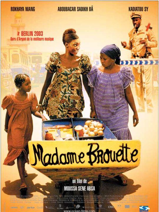 Madame Brouette : affiche Moussa Sène Absa