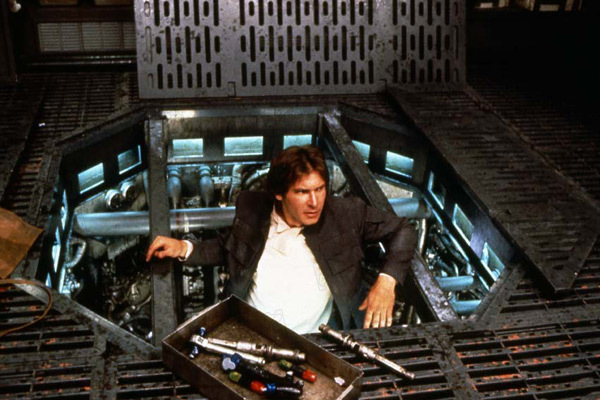 Star Wars : Episode V - L'Empire contre-attaque : Photo Harrison Ford, Irvin Kershner