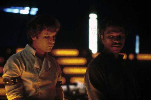 Star Wars : Episode V - L'Empire contre-attaque : Photo Billy Dee Williams, Harrison Ford, Irvin Kershner