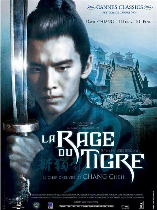 La Rage du tigre : affiche Chang Cheh