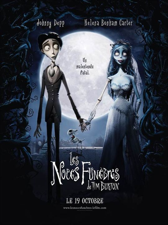 Les Noces funèbres : Affiche Mike Johnson