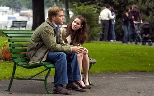 Syriana : Photo Amanda Peet, Matt Damon, Stephen Gaghan