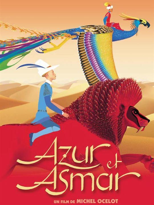 Azur et Asmar : Affiche Michel Ocelot