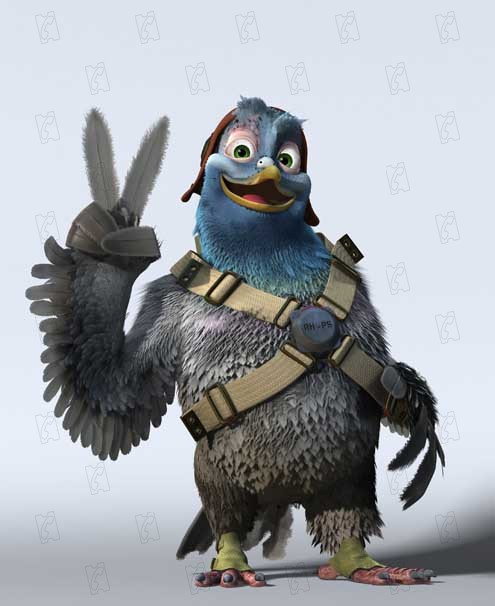 vaillant pigeon de combat