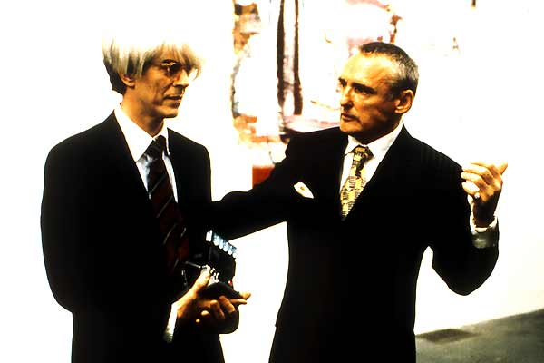 Basquiat : Photo David Bowie, Dennis Hopper