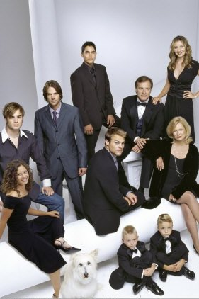7 à la maison : Photo Barry Watson, Beverley Mitchell, Catherine Hicks, David Gallagher, George Stults