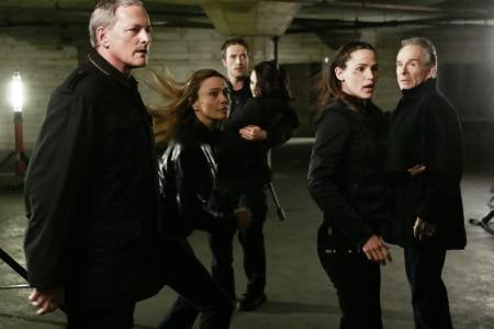 Alias : Photo Jennifer Garner, Lena Olin, Michael Vartan, Ron Rifkin, Victor Garber