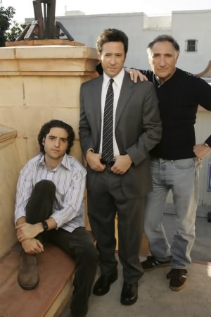 Numb3rs : Photo David Krumholtz, Judd Hirsch, Rob Morrow
