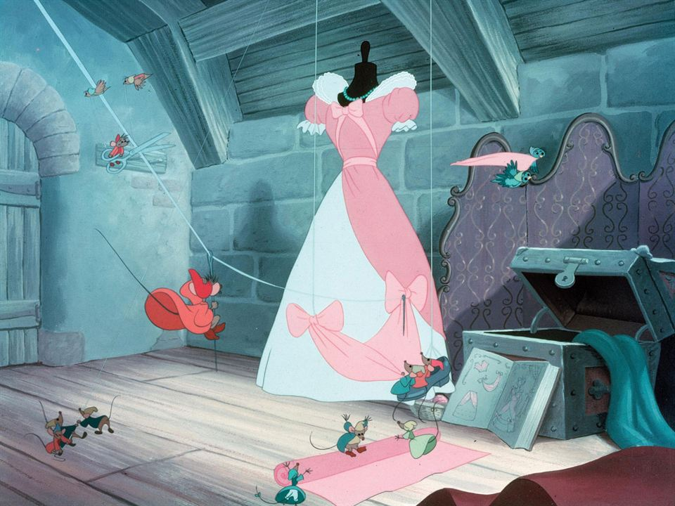 Cendrillon : Photo Clyde Geronimi, Hamilton Luske, Wilfred Jackson