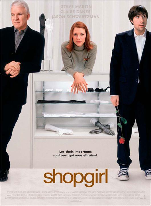 Shop Girl : Affiche Anand Tucker, Jason Schwartzman
