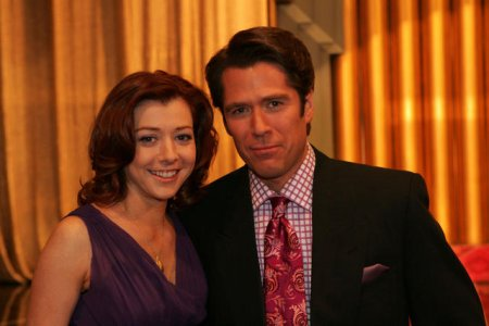 How I Met Your Mother : Photo Alexis Denisof, Alyson Hannigan