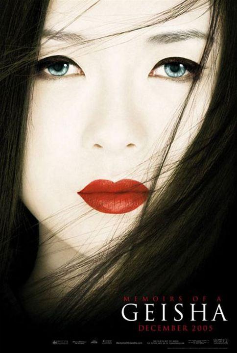 Mémoires d'une geisha : Affiche Zhang Ziyi