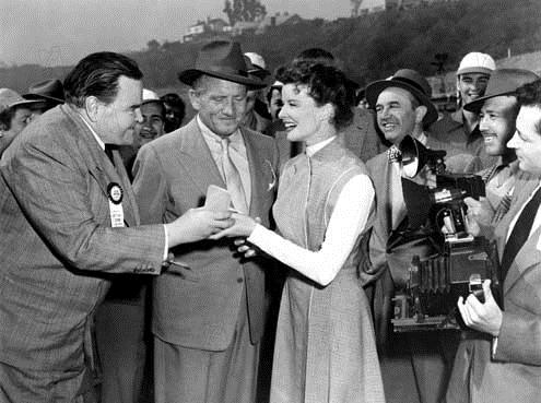 Mademoiselle Gagne-Tout : Photo George Cukor, Katharine Hepburn