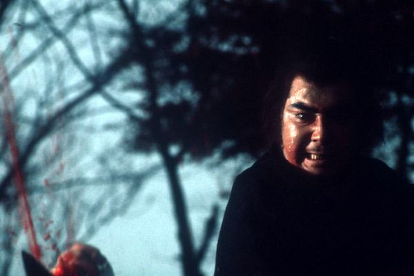 Le Sabre de la vengeance : photo Kenji Misumi