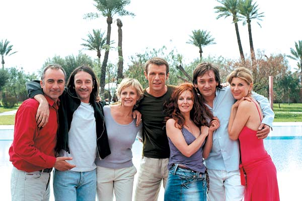 L'Anniversaire : Photo Antoine Duléry, Florence Thomassin, Isabella Ferrari, Jean-Hugues Anglade, Lambert Wilson