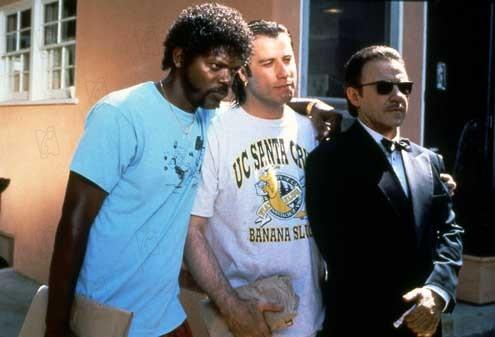 Pulp Fiction : Photo Harvey Keitel, John Travolta, Samuel L. Jackson