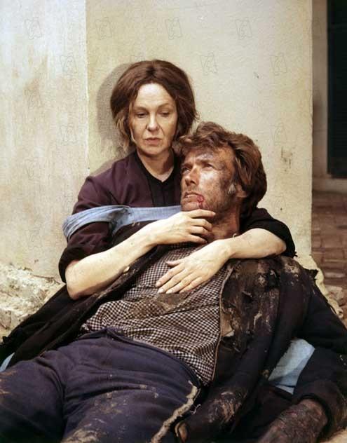 Les Proies : Photo Clint Eastwood, Geraldine Page