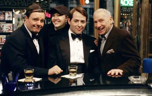 Les Producteurs : Photo Matthew Broderick, Mel Brooks, Nathan Lane, Susan Stroman