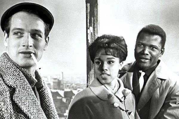 Paris Blues : Photo Diahann Carroll, Martin Ritt, Paul Newman, Sidney Poitier