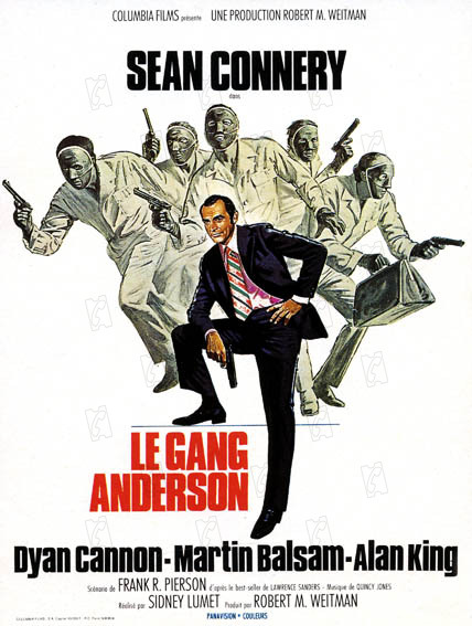 Le Gang Anderson : Photo Sean Connery