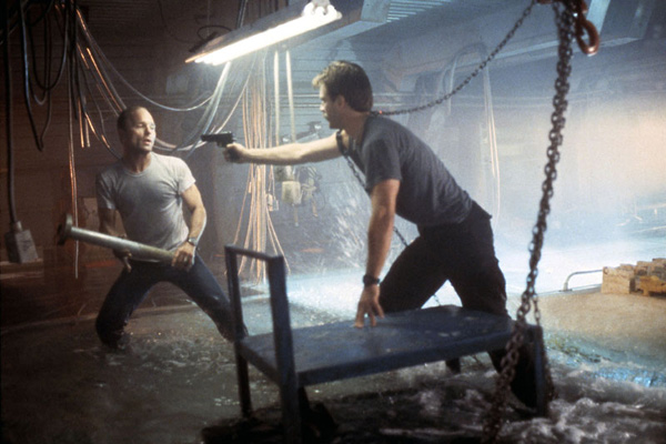 Abyss : Photo Ed Harris, Michael Biehn