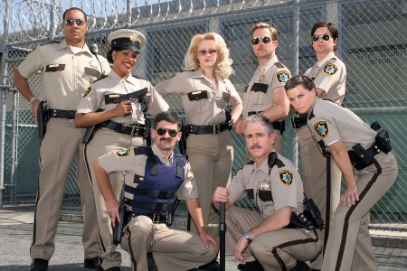 Reno 911, n'appelez pas ! : Photo Carlos Alazraqui, Cedric Yarbrough, Kerri Kenney-Silver, Mary Birdsong, Niecy Nash