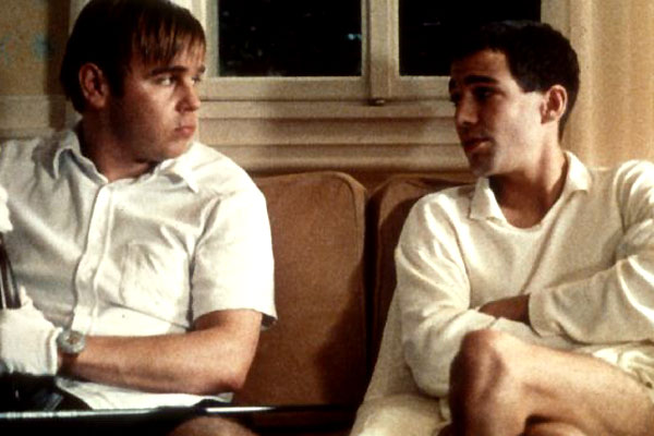 Funny Games : Photo Arno Frisch, Frank Giering, Michael Haneke