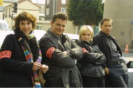 Cordier, juge et flic : Photo Elise Perrier, Julien Chatelet, Pierre-Arnaud Juin, Stéphanie Vicat