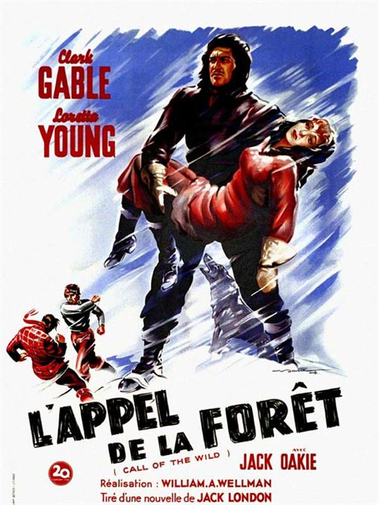 L'Appel de la forêt : Affiche Loretta Young, William A. Wellman