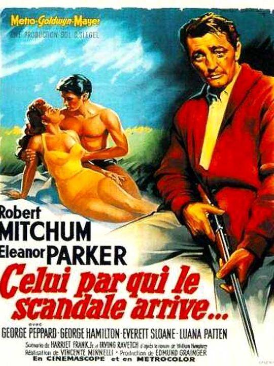 Celui par qui le scandale arrive... : Affiche Robert Mitchum