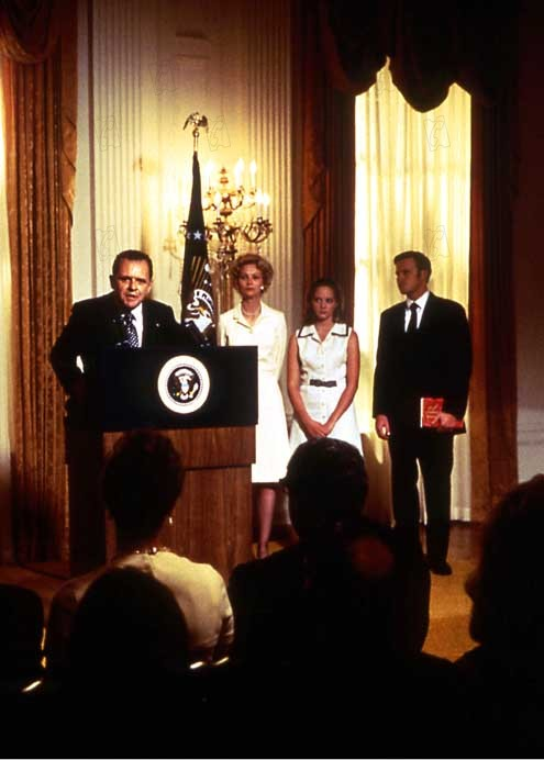 Nixon : Photo Anthony Hopkins, Oliver Stone