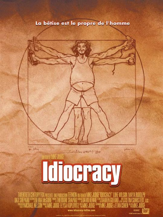 Idiocracy : Affiche Mike Judge