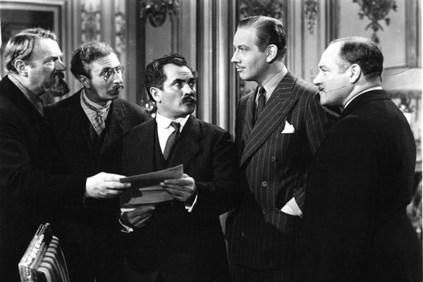 Ninotchka : Photo Alexander Granach, Felix Bressart, Melvyn Douglas