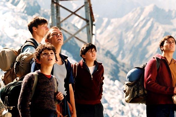 Les Aiguilles rouges : Photo Clément Chebli, Damien Jouillerot, Jules-Angelo Bigarnet, Pierre Derenne, Raphaël Fuchs-Willig
