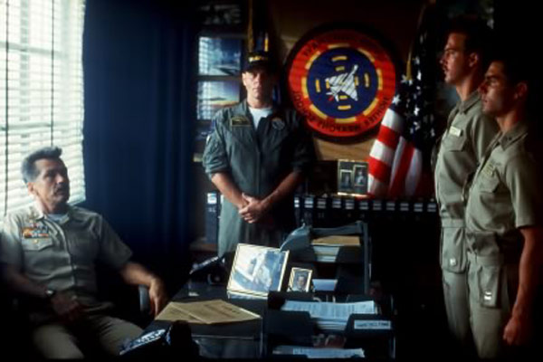 Top Gun : Photo Anthony Edwards, Michael Ironside, Tom Cruise, Tom Skerritt